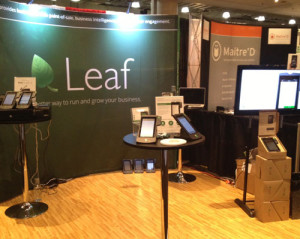Targeted brand aligned trade show booth
